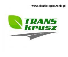 Trans-Krusz zatrudni kierowców C+E - Międzynarodówka